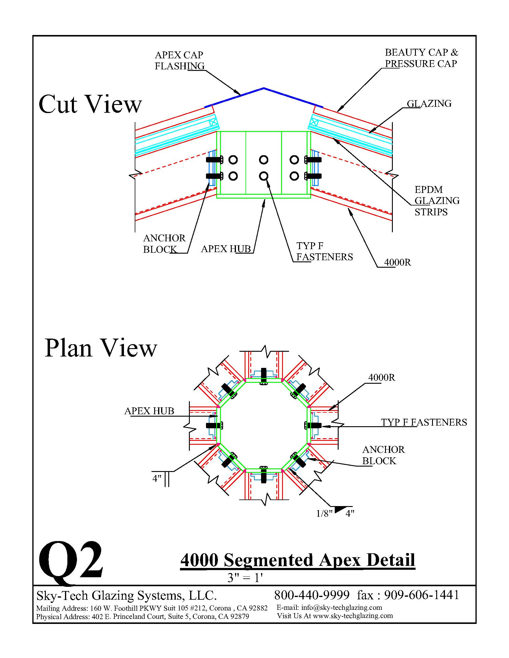 Q2 4000 Segmented Apex Detail