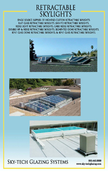 Retractable Skylights Brochure