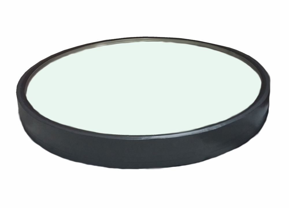Circular Curb Mounted Flat Glass White over Clear Skylight